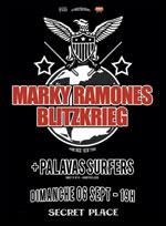 flyer marky ramone 39 s bltzkrieg secret place montpellier dimanche 6 septembre 2015 sortir. Black Bedroom Furniture Sets. Home Design Ideas