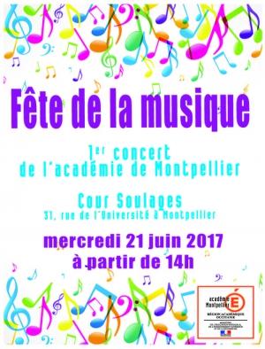 1er concert de l 39 acad mie de montpellier f te de la musique 2017 acad mie de montpellier - Fete de la musique 2017 date ...