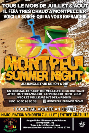 Montpeul' Summer Night