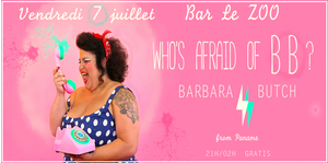 Dj Barbara Butch / Veille Gay pride / Bar Le ZOO