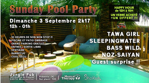 Sunday Pool Party - Trance To Tekno | 5 Artistes & Djs