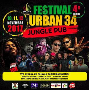 festival urban34 4 me dition jungle pub musical montpellier 34000 sortir france le. Black Bedroom Furniture Sets. Home Design Ideas