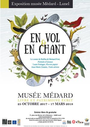 En Vol Et En Chant Musee Medard Lunel 34400 Sortir A