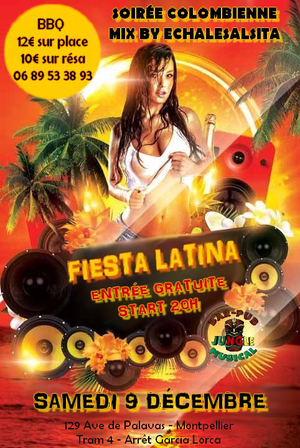FIESTA LATINA | ANIMATION & MIX ECHALESALSITA