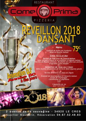 Le Reveillon Du Jour De L An 2018 Reussi Restaurant Le Come