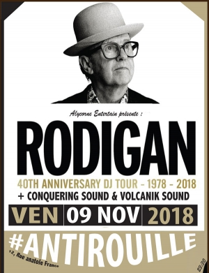 DAVID RODIGAN + GUESTS - 40TH ANNIVERSARY TOUR
