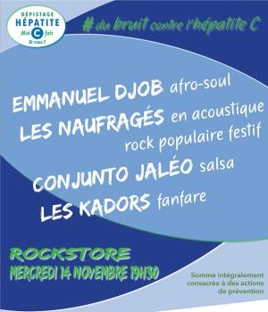 DU BRUIT CONTRE L'HEPATITE C - Rockstore, Montpellier, 34000 ...