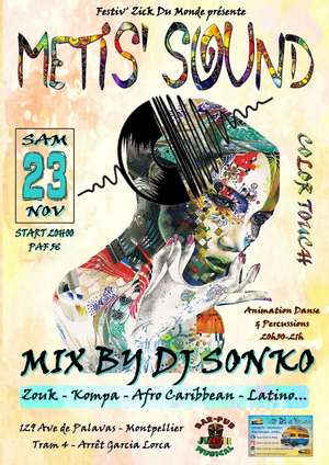 Soirée Metis'sound | Edition Color Touch | Mix Dj Sonko