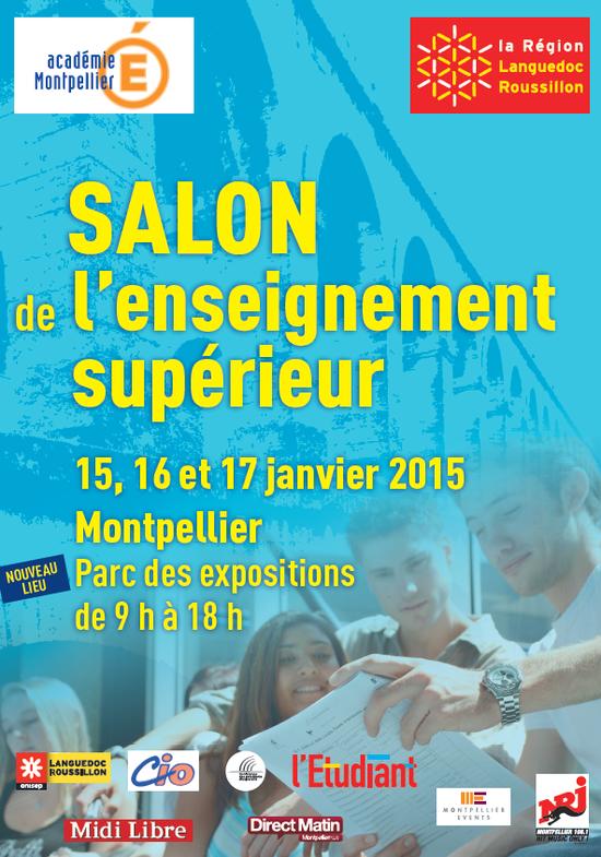 Salon de l 39 enseignement sup rieur de montpellier parc for Salon ce montpellier