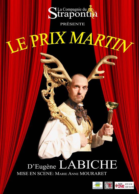 Le Prix Martin de LABICHE par la Compagnie du Strapontin