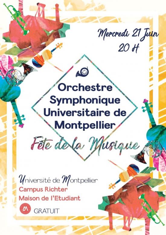 Repr sentation de l 39 orchestre universitaire de montpellier for Salon de l etudiant montpellier