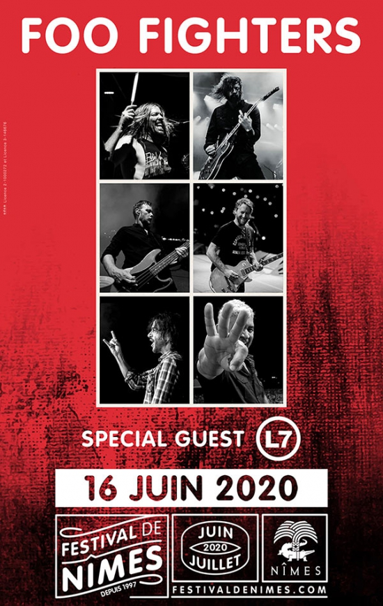 FOO FIGHTERS - FESTIVAL DE NIMES 2020