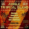 affiche Jungle Tropical Island