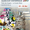 affiche Salon d'Art Contemporain Pyramid'Arts