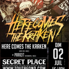affiche See you in the pit #7 here comes the kraken