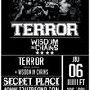affiche See you in the pit #7 terror