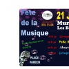affiche No Brainer ; Bédaricienne ; Absynthe Spoon ; Hindi's - Fête de la Musique 2018