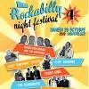 "affiche ROCKABILLY 4 : RONNIE NIGHTINGALE - CLIFF EDMONDS + JOHN"" TIMEBOND"" TAY"