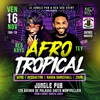 affiche AFRO TROPICAL | MIX DJS RED KRYS & TEY