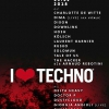 affiche I LOVE TECHNO EUROPE 2018