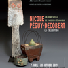affiche Un demi siècle de passion céramique - Nicole Péguy-Decobert - La collection