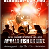 affiche CONCERT APOLLO FISH