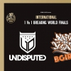 affiche FINALE BATTLE 1VS1 - BBOYS & BGIRLS - SNIPES BOTY INTERNATIONNAL 2019