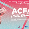 affiche Tremplin musical ACFA Part en Live