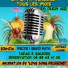 affiche KARAOKE BY -LOVE SONG FRISSONS-
